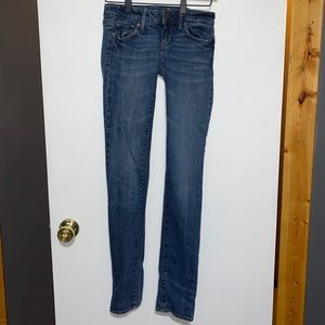 American Eagle Stretch Skinny Jeans 00 Long